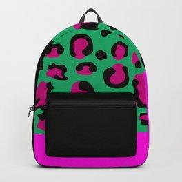 Urban Jungle - Leopard Pattern Pink Backpack