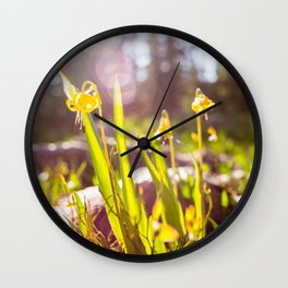 joy of midday sun Wall Clock