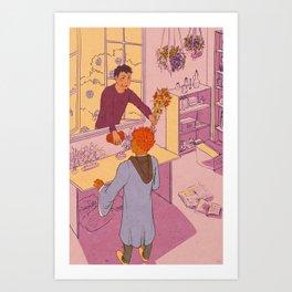 yer a witch, mihashi Art Print