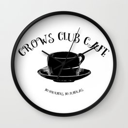 Six of Crows Club Wall Clock