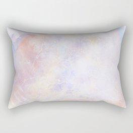 Pastel Organic Spaceship Rectangular Pillow