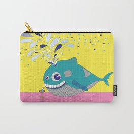 Hugo the Whale Carry-All Pouch