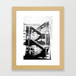 Her Front Door Framed Art Print