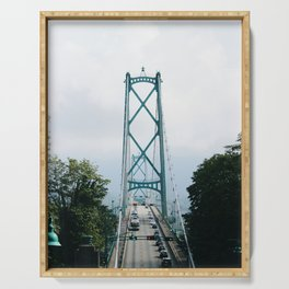 Lions Gate Bridge Serving Tray