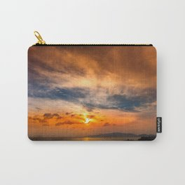 A Sunrise Glow Carry-All Pouch