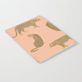 sunset leopards Notebook