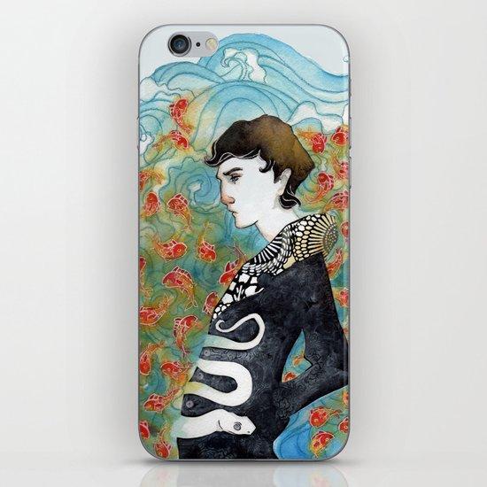 The White Snake iPhone & iPod Skin