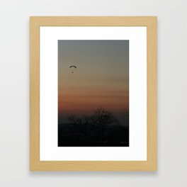 GRADATION OF THE SKY Framed Art Print