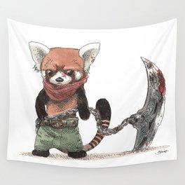 Panda Roux Barbare Wall Tapestry