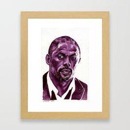 idris Framed Art Print
