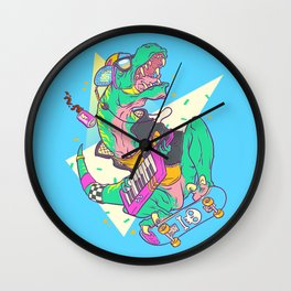 Ju-RAD-ssic Park Wall Clock