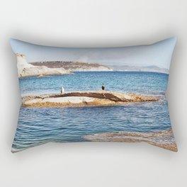 ROCKY ISLAND - Sardinia - Italy  Rectangular Pillow
