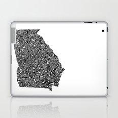 Typographic Georgia Laptop & iPad Skin