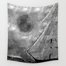 The Fate of Sir Charles Vane: Mutiny and the Cursed Lands Wall Tapestry