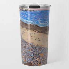 Seaside Popples with Lighthouse Travel Mug