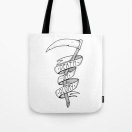 Death or Glory Tote Bag