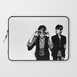 Tegan & Tegan & Sara & Sara - Black Laptop Sleeve