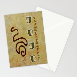 You make your way Stationery Cards