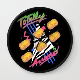 TOTally Awesome Wall Clock