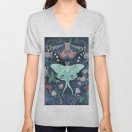 Luna Moth Unisex V-Neck