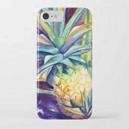 Kauai Pineapple 4 iPhone Case