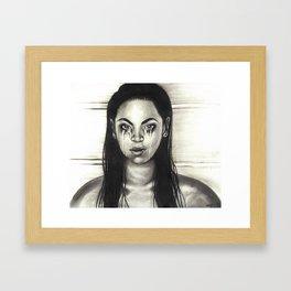 Sad Sasha  Framed Art Print
