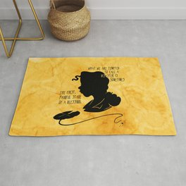 The First, Painful Stage of a Blessing Rug