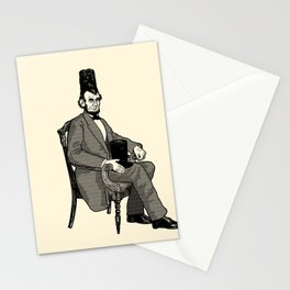 Hat Head Stationery Cards
