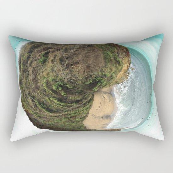 Bells Beach tiny world Rectangular Pillow
