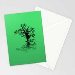 Naked Tree Three Stationery Cards