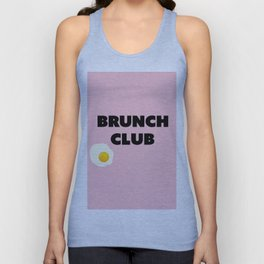 brunch club Unisex Tank Top