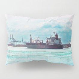 Big Ship on the Mississippi Pillow Sham