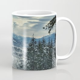 Fraser Valley in the Winter Coffee Mug