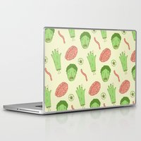 zombie Laptop & iPad Skins featuring Zombie by Paula García
