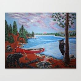 Muskoka Pleasures Canvas Print