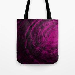 Organic Spiral - Purple Tote Bag