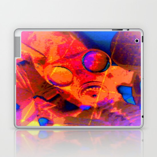 Abstract Gasmask Laptop & iPad Skin