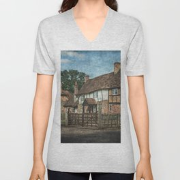 An Oxfordshire Village Unisex V-Neck