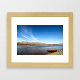 On Loch Awe 1 Framed Art Print