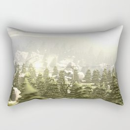 Forrest Island Rectangular Pillow