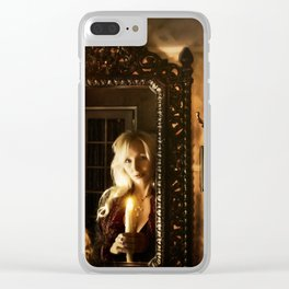 "VAMPLIFIED ""Know Thyself"" Clear iPhone Case"