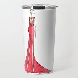 Fashion Illustration Travel Mug