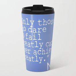 Robert F. Kennedy quote Travel Mug