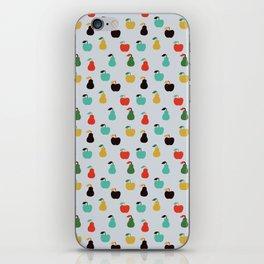 Apples + Pears iPhone Skin