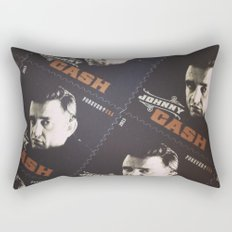 Johnny Cash Stamps Rectangular Pillow