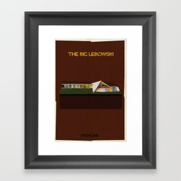 The big lebowski Directed by Joel Coen Framed Art Print