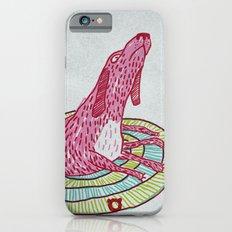006_pink dog iPhone 6s Slim Case