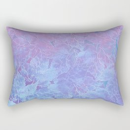 Frozen Leaves 3 Rectangular Pillow