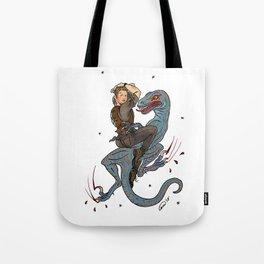 Jurassic World Pin-Ups ~ Owen Grady Tote Bag