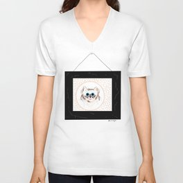 Cat Portrait Unisex V-Neck